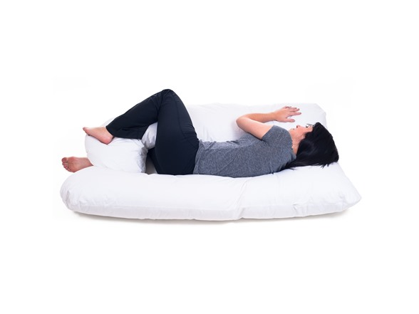 Full Body Contour U Pillow Great For Pregnancy