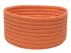 Orange Woven Storage Basket - 3 Sizes