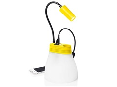 Solar Lamp & Phone Charger - Yellow