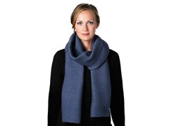 DHS Long Pleece Scarf - Denim Blue