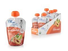 Plum Organics Peach Mish Mash 24pcs