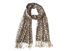 2-Pack Animal Print Scarves