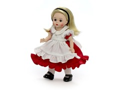 "8"" Alice In Wonderland In Her Red Dress"