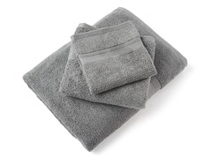 MicroCotton Aertex 3Pc Towel Set-Steel