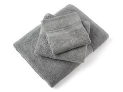 MicroCotton Aertex 3Pc Towel Set-Steel