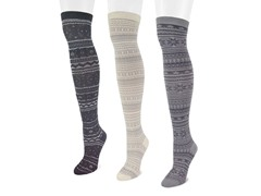 Microfiber 3-Pair Mixed Pack OTK Socks