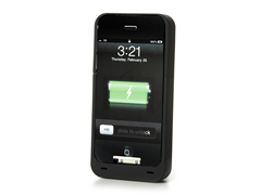DX+ iPhone 4/4S Battery Case - Black