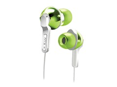 City Lights In-Ear Earphones - Green