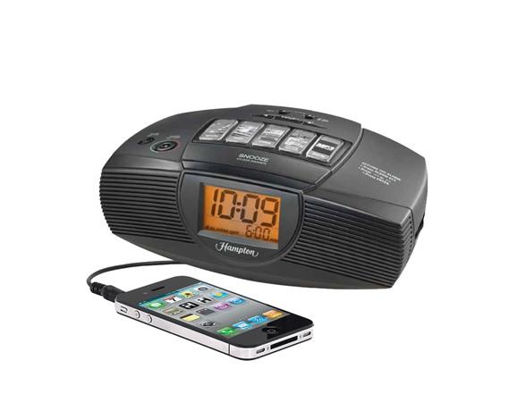 iHome Hotel Alarm Clock Radio with Preset Tuning