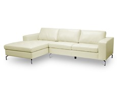 Lazenby Cream Sectional Sofa