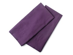 380 Percale 2Pc King Plum