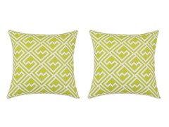 Shakes Green 17x17 Pillows S/2