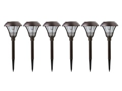 6-Piece Kenbury Solar Pathlight Set