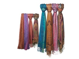Women's 4-Pack Wraps - Paisley or Shine