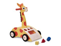 Wonderworld Toys Giraffe Walker