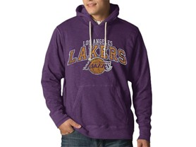 NBA Los Angeles Lakers Slugger Pullover Hoodie Jacket, L