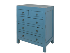 Jeffan Newton Chest - Dark Blue