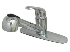 Kitchen Faucet with Wand, Chrome
