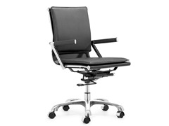 ZUO Lider Plus Office Chair Black