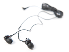 EX Series Earbuds with Volume Control