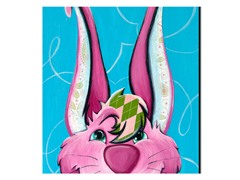 Dressy Bunny Canvas - 2 Sizes