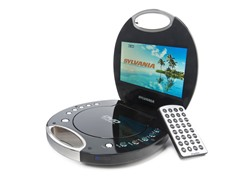 "Sylvania 7"" Portable DVD Player"