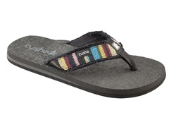 Cushe Men's Forensic Flop Canvas, Multi