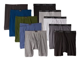 12-Pack: Hanes Boxer Briefs