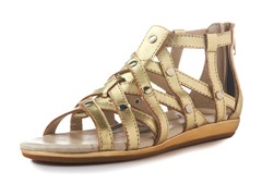 Rowena Gladiator Sandal - Gold