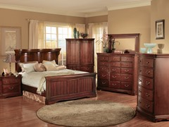 Greenbriar Serpentine 5-pc Bedroom Set (3 Sizes)