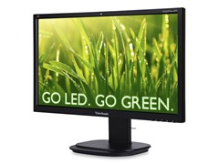 "24"" LED-backlit Monitor w/Webcam"