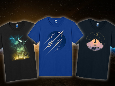 Rocket Ship T-Shirts