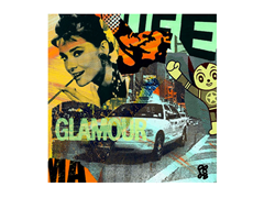 40 X 40 Glamour Life Wall Art