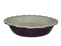 10.25in Pie Plate - Purple