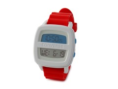 Remix Red & White Digital Watch