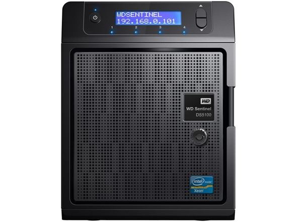 Driver UPDATE: WD Sentinel DS5100 Storage