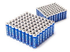 AA & AAA STAMINA PLUS Batteries - 144 Mega Pack