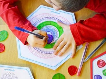Spirograph Junior & Shapes Set Bundle