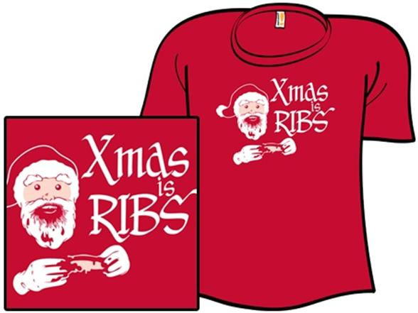 Xmas Is Ribs Premium XQA0149h