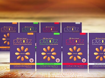 Pizootz Almonds Sampler Pack (8)