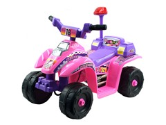 Pink/Purple- Princess 4-Wheeler Mini ATV