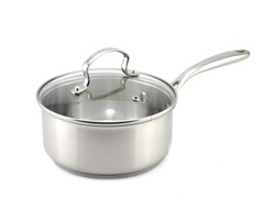 Kevin Dundon 2 QT Sauce Pan: Stainless