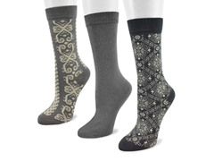 3-Pair Alpine Pack Crew Socks