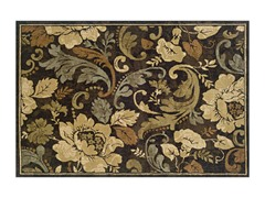 Avery Leaves Area Rug (4 Sizes)