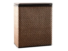 Twill Upright Hamper - Chocolate