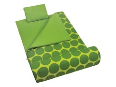 Sleeping Bag - Big Dot Green