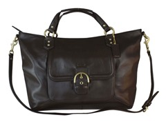 Campbell Izzy Fashion Satchel, Brown