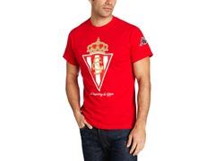 Sporting de Gijon Logo S/S T-Shirt L-2XL