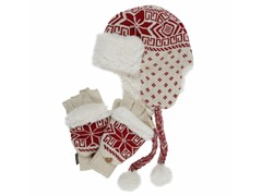 MUK LUKS® Trapper Hat Flip Glove Set