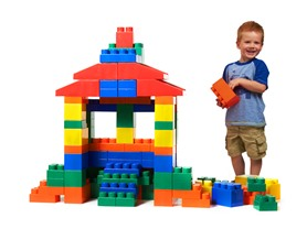 Mighty Big Blocks 100-Pc Jumbo Block Set